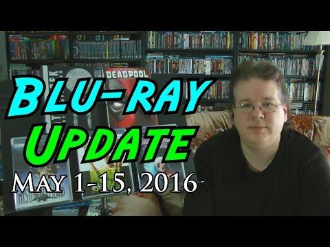Blu-ray Update!  May 1-15, 2016