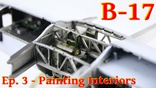 Video Model Flying Fortress B-17G - 1/72 Airfix - Painting Interiors download MP3, 3GP, MP4, WEBM, AVI, FLV Juli 2018