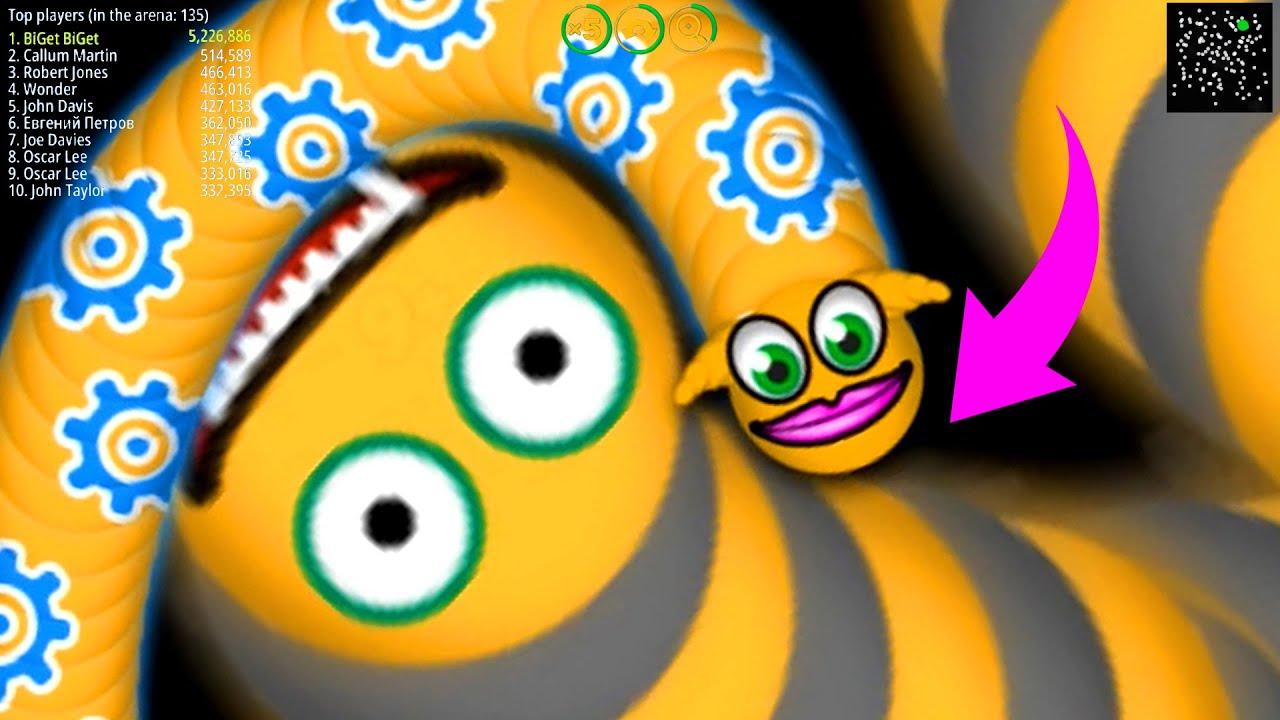 WormsZone.io 001 Best Pro Slither Snake Top 01 /World Record Epic WormsZoneio Gameplay Moments #77