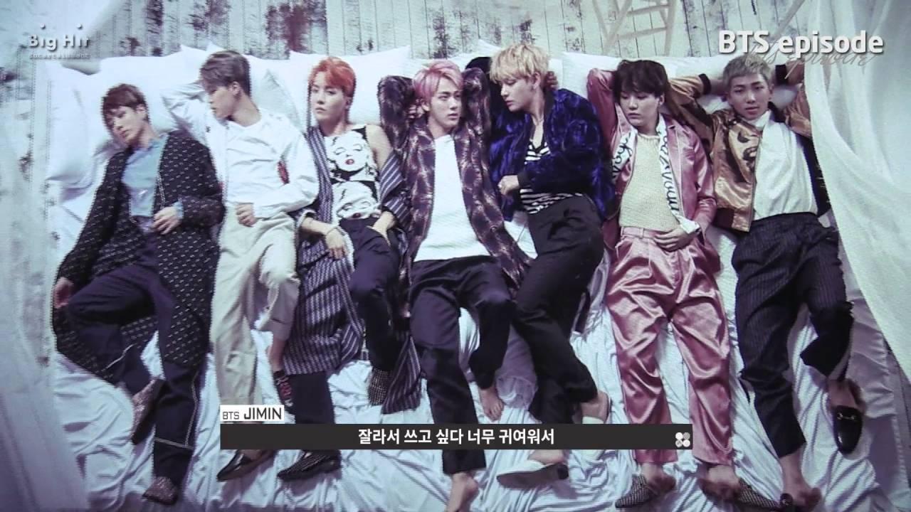 [EPISODE] BTS (방탄소년단) 'WINGS' Jacket Shooting Sketch