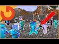 SLOWLY TURNING EVERYONE ON SERVER INVISIBLE AND GLOWING! (Minecraft Whole Server Trolling S2E2)