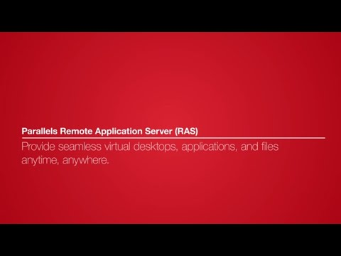 Parallels Remote Application Server (RAS) version 16