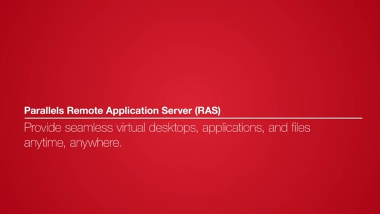 Parallels Remote Application Server Ras Version 16 Youtube