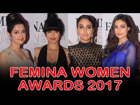 Femina Women Awards 2017 Red Carpet | Athiya Shetty, Swara Bhaskar, Adah Sharma, Divya Khosla Kumar