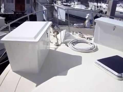 1989 43' Vista Yachts Trawler 43 - Walk-through Inspection - Suenos Azules Marine