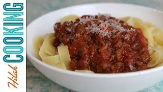 Bolognese Sauce |  Meaty Spaghetti Sauce
