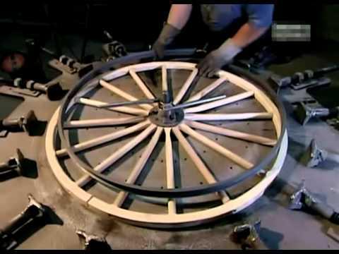 Как делают конную повозку карету