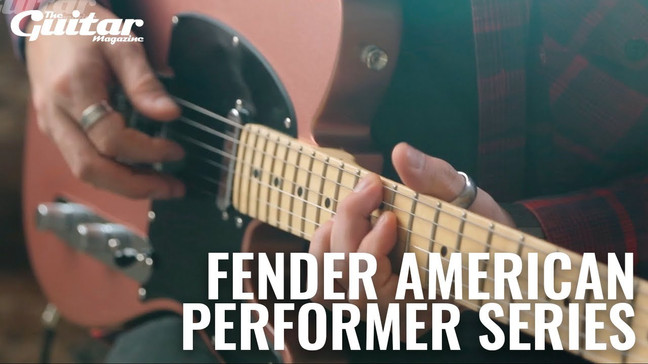 small resolution of fender american performer stratocaster and telecaster review guitar com all things guitar