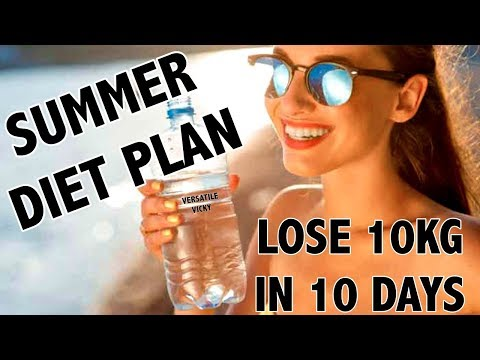 Summer Indian Diet Plan For Weight Loss Hindi | How to Lose Weight Fast 10 Kgs in 10 Days
