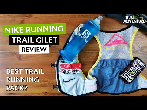 NIKE RUNNING TRAIL GILET Review | Running pack, running vest review | Run4Adventure