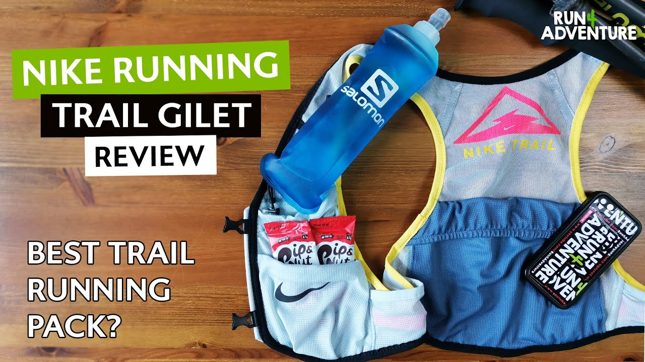 Ascensore Scarpe antiscivolo Corpo  NIKE RUNNING TRAIL GILET Review | Running pack, running vest review |  Run4Adventure - YouTube