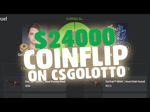 $24000 COINFLIP IN CSGOLOTTO!