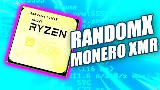 How to mine Monero XMR with RandomX on AMD Ryzen R9 3900X after Fork RX/0 Algo Switch