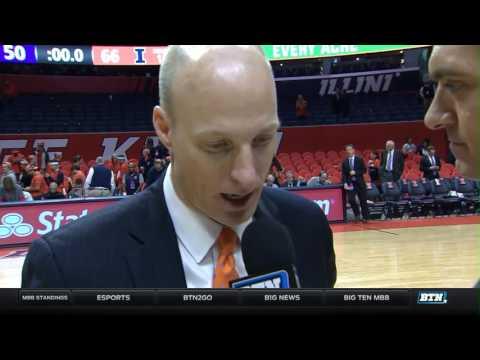 Northwestern at Illinois - Men's Basketball Highlights