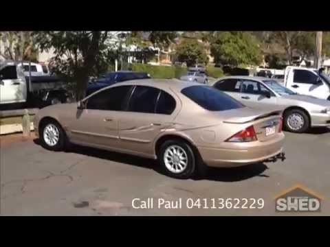 1999 Ford Fairmont AU Sedan Auto Gold 1463  YouTube