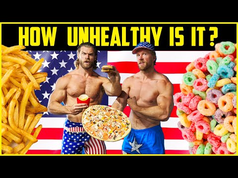 We Tried the AVERAGE AMERICAN DIET, Here's What Happened