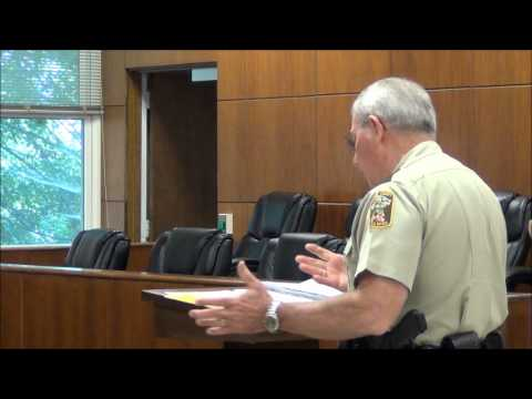 Jackson County Commission, Courthouse Security 8-26-13