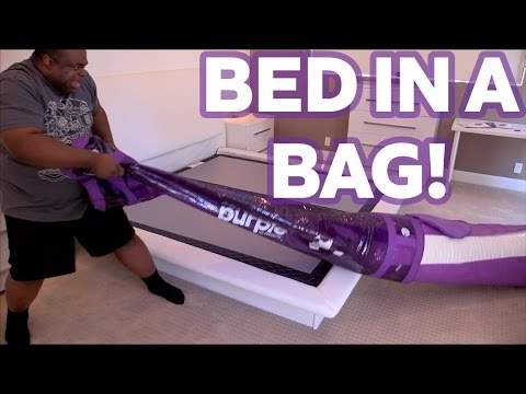 A BED IN A BAG!