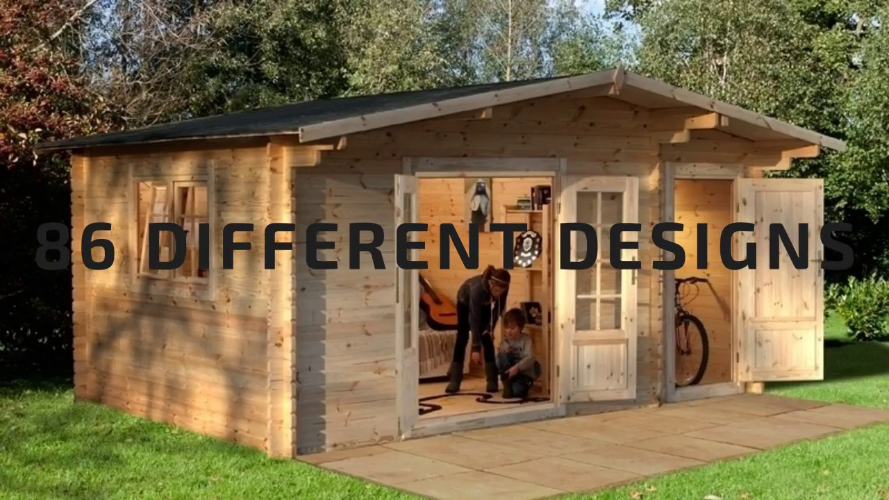 Garden Sheds For Sale UK - ShedStore - YouTube
