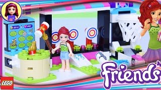 Lego Friends Amusement Park Arcade Build Review Silly Play - Kids Toys