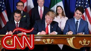Al fin se firmó la renegociación del tratado comercial USMCA o T-MEC