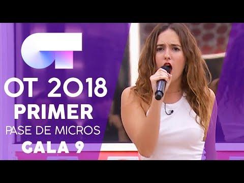 """ONLY GIRL (IN THE WORLD)"" - MARILIA | PRIMER PASE DE MICROS GALA 9 | OT 2018"