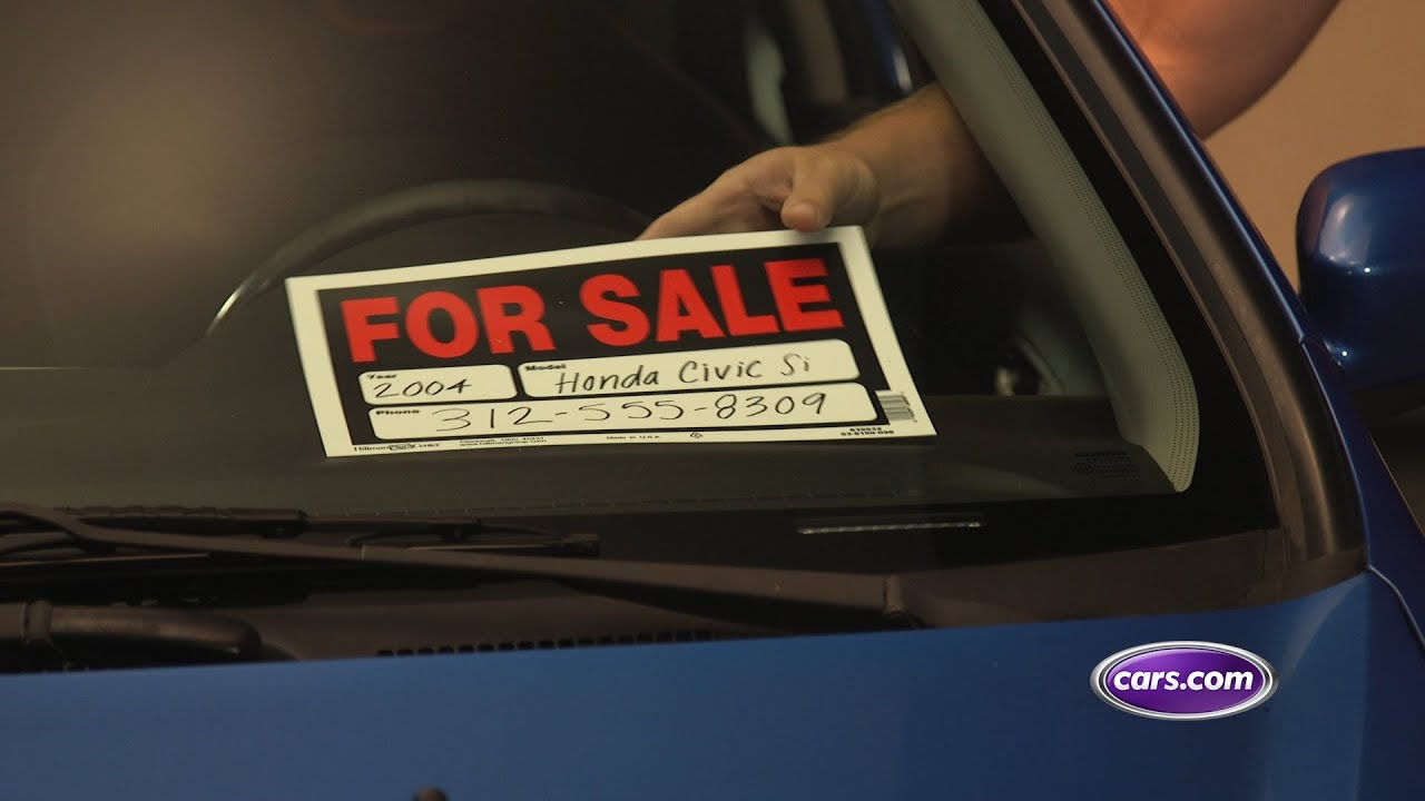 Driving Smart: Prep Your Car for Sale - YouTube