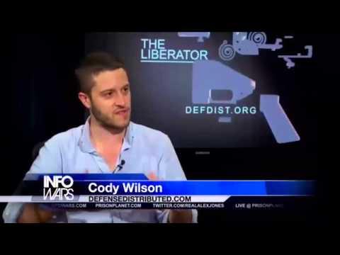 3D Printer Guns Shut Down By Government - Cody Wilson's Interview with Jacari Jackson