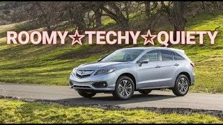 2017 / 2018 Acura RDX SUV Review and Features Tutorial - AWD Luxury