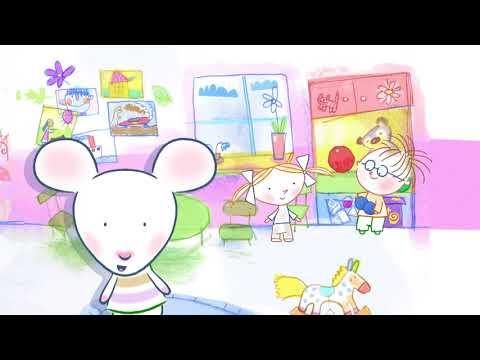 Myszka w paski | zabawa w liczenie | bajki dla dzieci MiniMini+
