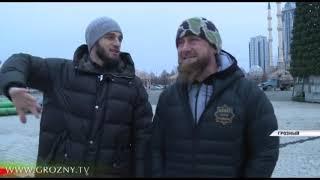 В Грозном началась подготовка к новогодним праздникам