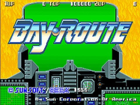 Bay Route (ベイルート) [Arcade] - All Clear - 1CC - 712,850 points - edusword