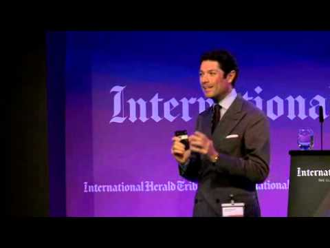 Matteo Marzotto @ International Herald Tribune event - 1st part