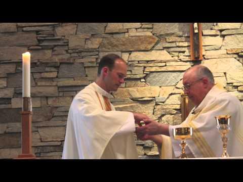 Dedicating the Oratory at Royalmont Academy- 2013