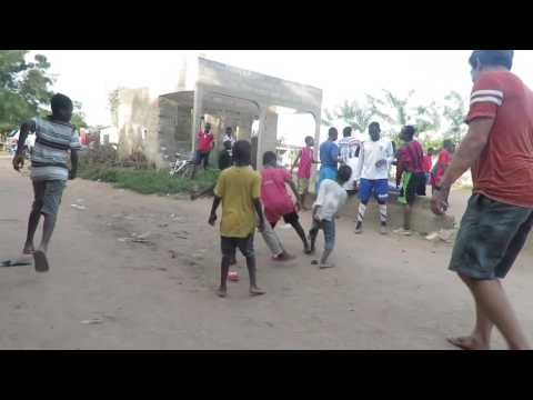 The secret to the amazing ball handling skill of African soccer players