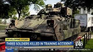 Three soldiers killed in military accident