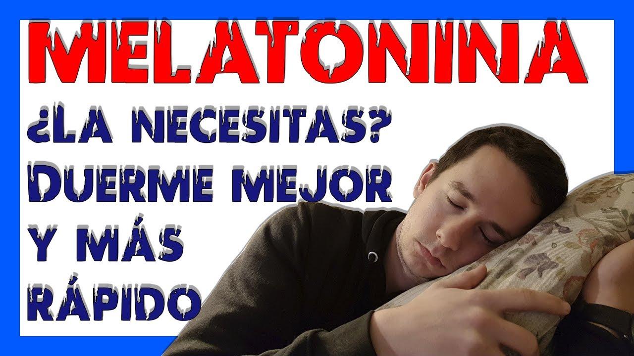 Como tomar melatonina para el insomnio