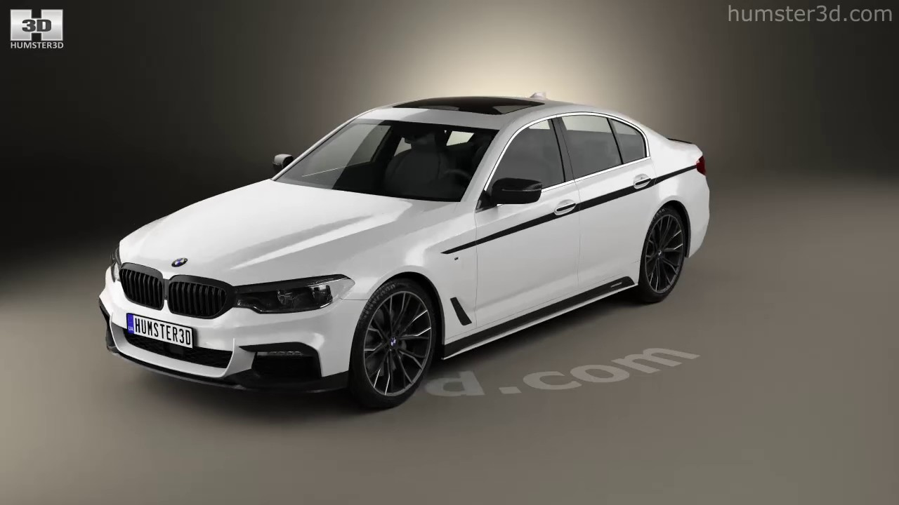 BMW 5 Series (G30) M Performance Parts 2017 3D model by ...