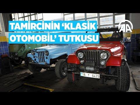 "Tamircinin ""klasik otomobil"" tutkusu"