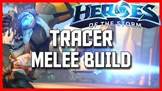 Heroes of the Storm Tracer Build Guide - Melee Tracer Build - Tracer Rank 1 Gameplay Guide
