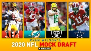 Full first round nfl mock draft with our football analyst danny kanell and expert ryan wilson. picks 32-23, ravens, 49ers, packers, chiefs, seahawks, d...