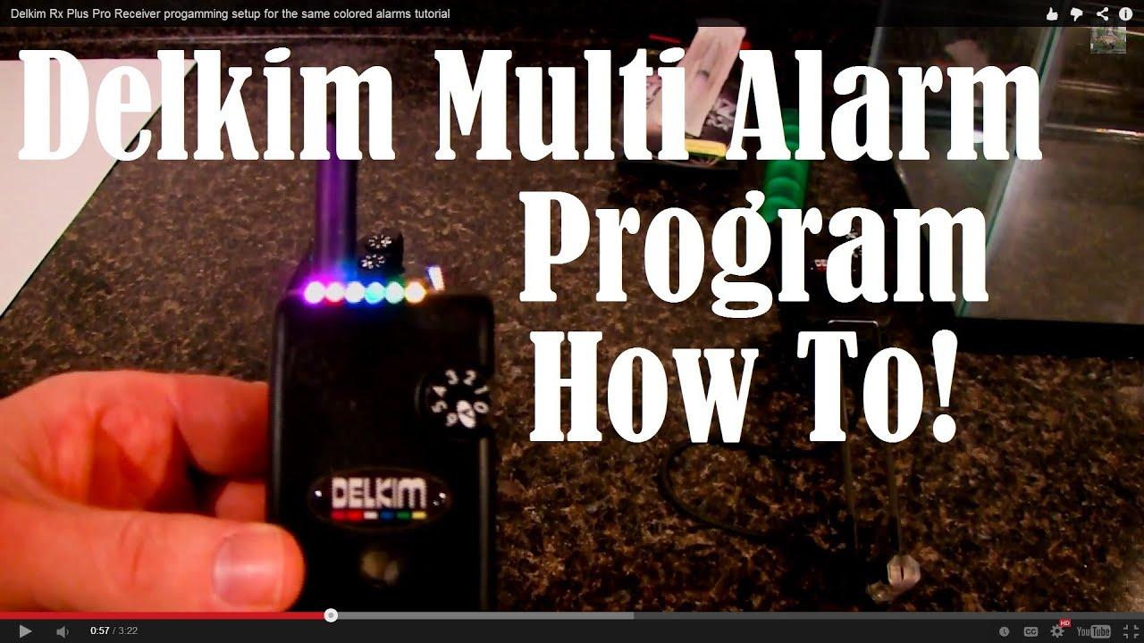 Wonderbaar Delkim Rx Plus Pro Receiver progamming setup for the same colored SG-61