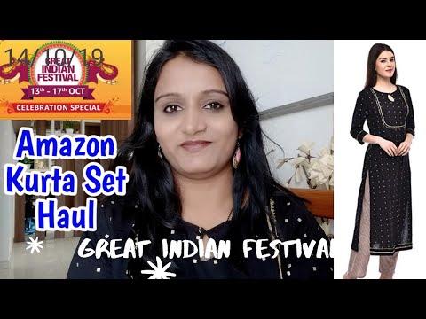 Amazon Kurta Set Haul & Review 💕Under 600 Rs💕Affordable💕Rohini Hamkar