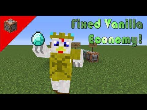Vanilla Economy System In Minecraft! (1.12, Fixed)
