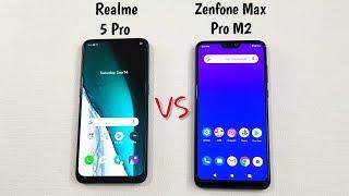 Realme 5 Pro vs Asus Zenfone Max Pro M2 SpeedTest & Camera Comparison