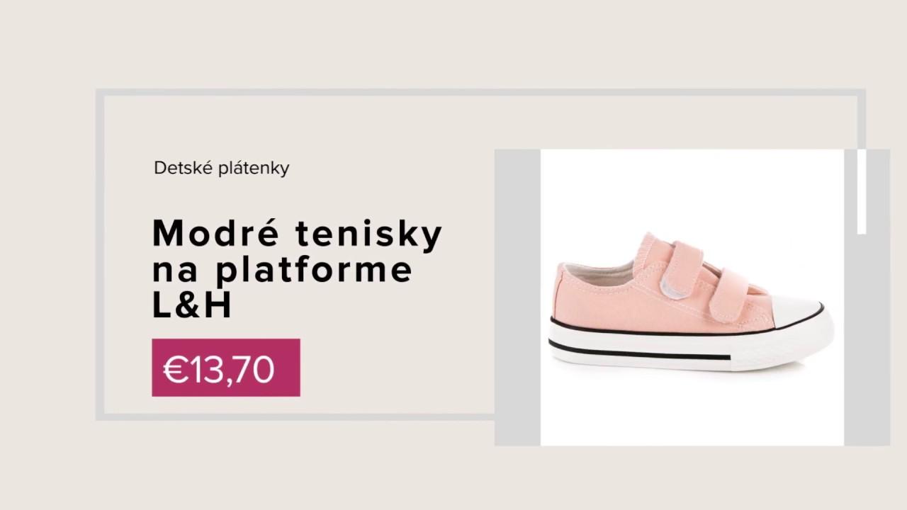 NAJ.SK - kolekcia obuvi jar leto 2018 - YouTube a5934b63227