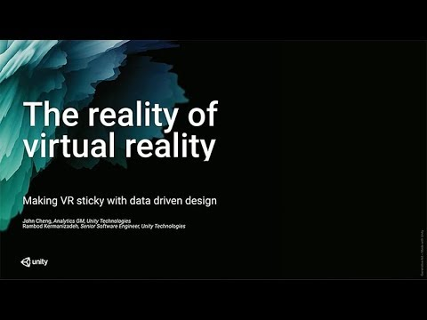 Oculus Connect 4 | What Makes VR Sticky: Data-Driven VR Design
