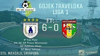 Download Video Persipura vs Mitra Kukar 6-0 Highlight & Goal Liga 1 Gojek Traveloka 03-07-2017 MP3 3GP MP4