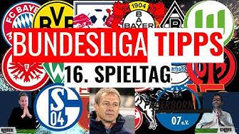 BUNDESLIGA VORHERSAGE - TIPPS und Prognosen zum 16. Spieltag 2019/2020