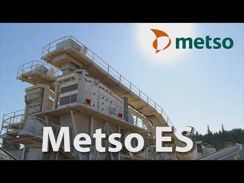 Metso launches ES Series screen: simulation and 3D animations